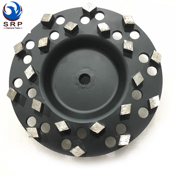 Spike Diamond-Seg Cup Wheel