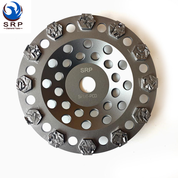 Round SPLIT PCD CUP WHEEL