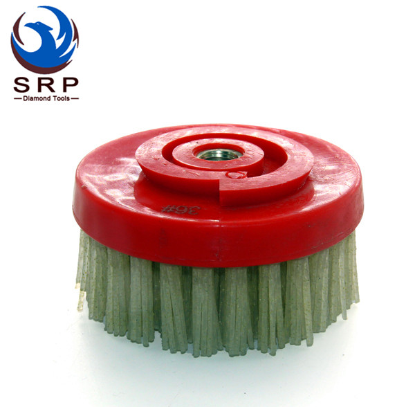 4 Inch Diamond Abrasive Brush with Snail Lock