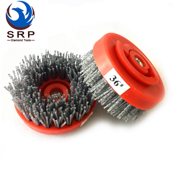 4 Inch Silicon Abrasive Brush with Snail Lock