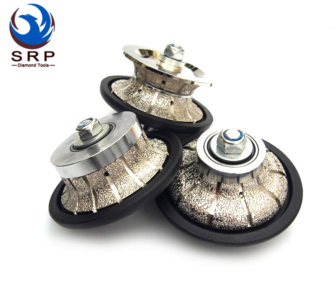 Bullnose Brazed Profiling Wheels